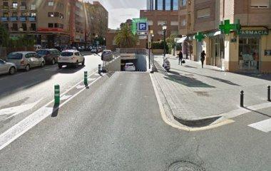 Reservar una plaza en el parking APK2 Aragón - Chile