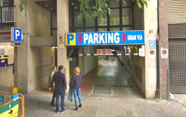 Reservar una plaza en el parking COEN Gran Via