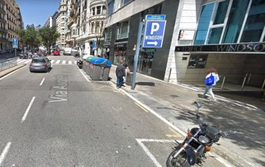 Parking Diagonal - Via Augusta - Rambla Catalunya COEN Windsor