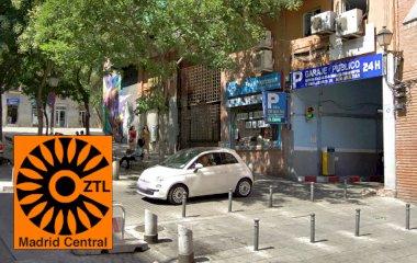 Reservar una plaza en el parking Garaje Embajadores
