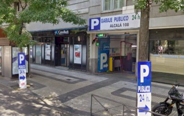 Book a parking spot in Garaje Alcalá 108 car park