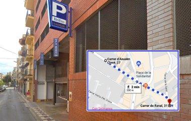 Book a parking spot in Brillas (Blanes) car park