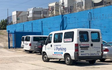 Забронируйте паркоместо на стоянке Kingparking Civitavecchia Shuttle