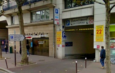 Reservar una plaça al parking Valmy Liberté
