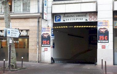 Reserve uma vaga de  estacionamento no Valmy Liberté