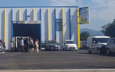 Reserveer een parkeerplek in parkeergarage Caravaggio Shuttle Scoperto