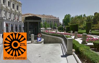 Reservar una plaza en el parking APK2 Plaza de Oriente