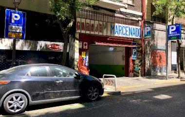 Reserveer een parkeerplek in parkeergarage Garaje Marcenado - Conde Duque - Valet interior