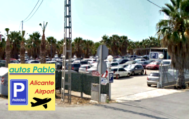 Reservar una plaza en el parking Autos Pablo Alicante Airport - Shuttle - Descubierto