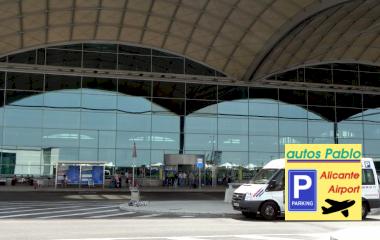 Book a parking spot in Autos Pablo Alicante Airport - Valet - Descubierto car park