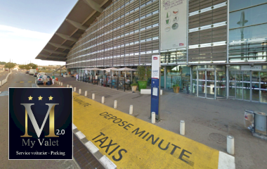 Book a parking spot in My Valet services 2.0 Gare TGV AIX car park