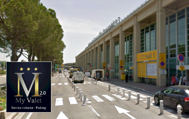 Book a parking spot in My Valet services 2.0 Aéroport de Marseille car park