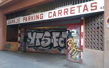 Reservar una plaza en el parking Carretas 45
