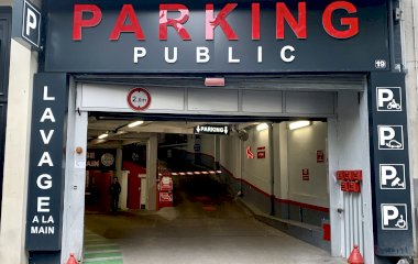 Book a parking spot in Grand Garage de Passy car park