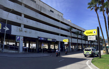 Book a parking spot in Puerto Algeciras car park