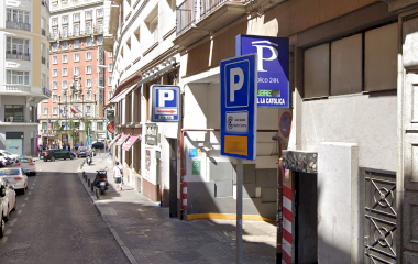 Reservar una plaza en el parking APK2 Isabel la Católica