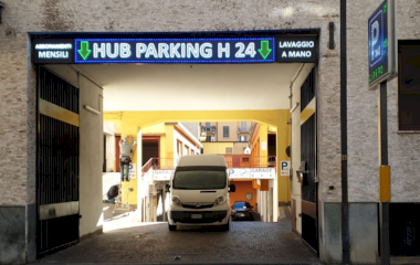 Book a parking spot in HUB Parking Copernico car park