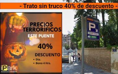 Reserve uma vaga de  estacionamento no Parking Severo Ochoa