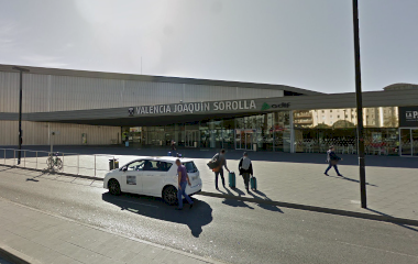 Reservar una plaza en el parking Viparking Estación Joaquín Sorolla VALET