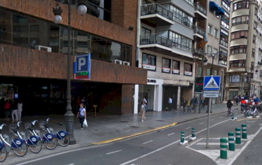 Reservar una plaza en el parking APK2 Colón 60