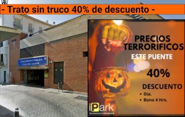 Reservar una plaça al parking Plaza del Carmen