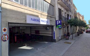 Reservar una plaza en el parking Principal de Gràcia