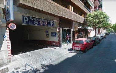 Reservar una plaza en el parking Coslada r.
