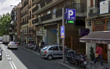 Book a parking spot in AparcaMadrid - Turismo car park