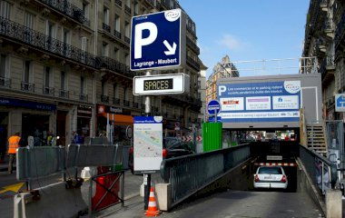 Reserveer een parkeerplek in parkeergarage SAEMES Lagrange Maubert