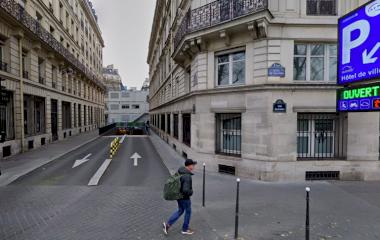 Reservar una plaza en el parking SAEMES Hôtel de Ville