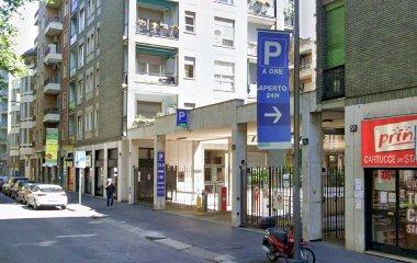 Reservar una plaça al parking Cenisio