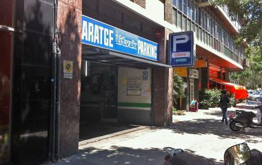Reservar una plaza en el parking GP Litvak