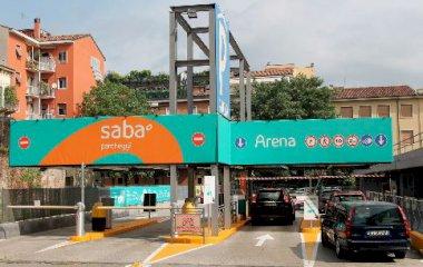 Reservar una plaza en el parking SABA - Verona Arena