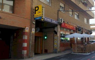 Reservar una plaza en el parking AVE Carlet