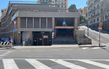 Book a parking spot in Real Sanremo car park