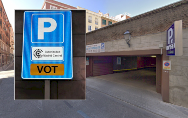 Reservar una plaza en el parking VOT Promoparc - Madrid Central