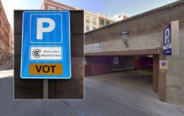Reservar una plaza en el parking VOT Promoparc - Madrid Central
