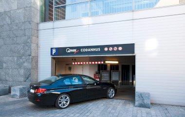 Reserve uma vaga de  estacionamento no Q-Park Codanhus