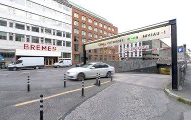 Reserveer een parkeerplek in parkeergarage Q-Park Vesterport