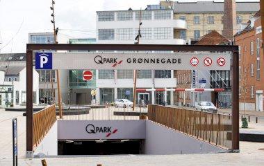 Reservar una plaça al parking Q-Park Grønnegade
