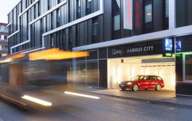 Réservez une place dans le parking Q-Park Aarhus City