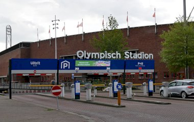 Book a parking spot in MOBIHUB Olympisch Stadion - parking only car park