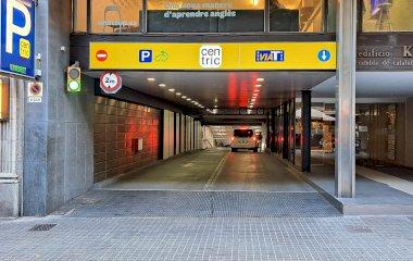 Book a parking spot in APK2 Centric car park