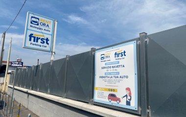 Reserveer een parkeerplek in parkeergarage First Parking Shuttle - Coperto