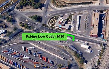 Book a parking spot in Low Cost Furgonetas M30 car park