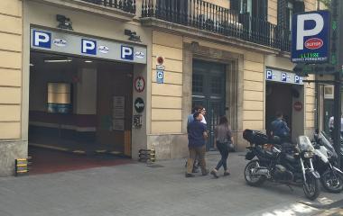 Reservar una plaza en el parking Barcelona Centro- Aurise