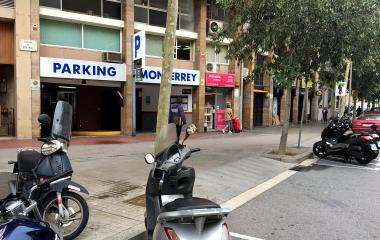 Book a parking spot in Sant Antoni - Monterrey car park