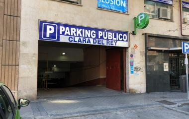 Book a parking spot in Avda América - Clara del Rey car park
