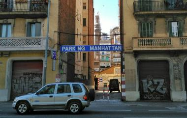 Book a parking spot in Manhattan Vans y Autocaravanas - Aragó car park
