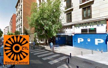 Reservar una plaza en el parking La Latina - Turismos r.
